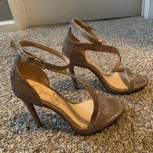 Jessica Simpson's Fancy Sandals
